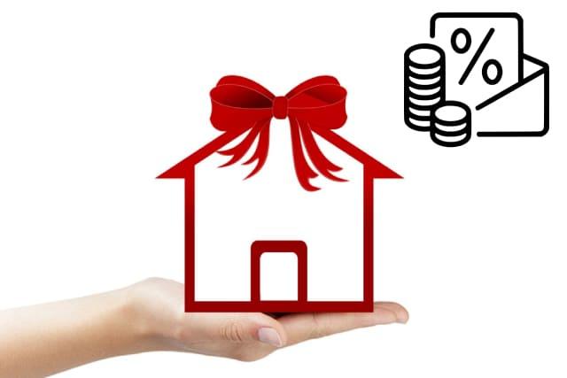 Налог при дарении недвижимого имущества