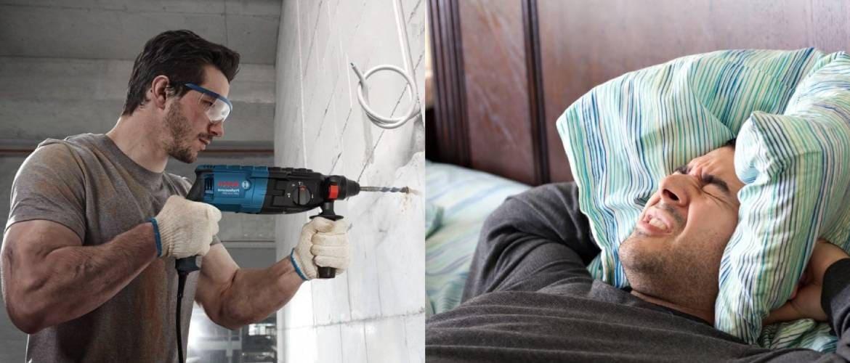 Когда можно делать ремонт в квартире по закону?